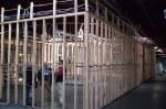 los graduados alambrando un proyecto comercial de un bodega de 35,000 pies cuadrados